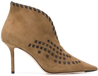Jimmy Choo Savi 85mm ankle boots