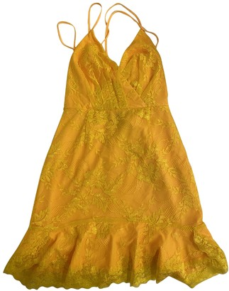 NBD Yellow Dress for Women