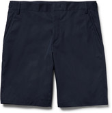 Lanvin - Slim-fit Cotton-twill Bermuda Shorts