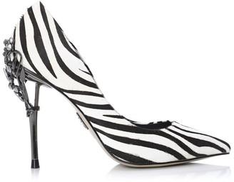 Moda In Pelle Ilari Zebra Calf Hair