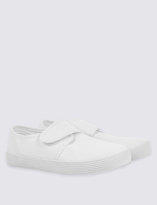 Marks and Spencer Kids' Riptape Plimsolls (7 Small - 4 Large)