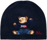 Ralph Lauren teddy beanie