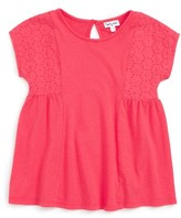 Splendid Girl's Pieced Knit Top