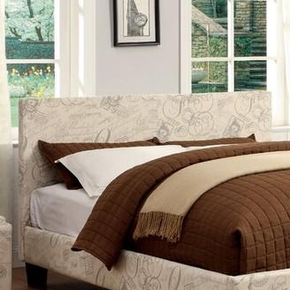 Hokku Designs Temara Upholstered Panel Headboard Size: Full / Queen