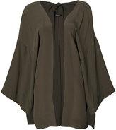OSKLEN oversized kimono jacket - women - Silk - P