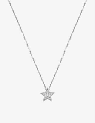 The Alkemistry Dana Rebecca Julianna Himiko 14ct white-gold and diamond necklace