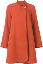 Chloé oversized cocoon coat - women - Polyamide/Virgin Wool - 36