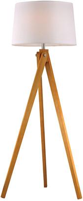 Artistic Home & Lighting 63In Wooden Tripod Floor Lamp