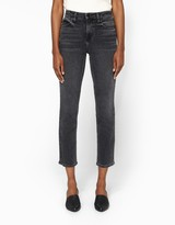Alexander Wang High Rise Jeans in Grey Fade