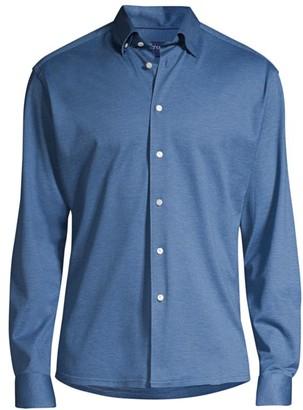 Eton Long-Sleeve Cotton Shirt