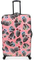 "Jessica Simpson Cactus Printed 29"" Hardside Spinner Suitcase"