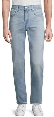 7 For All Mankind Adrien Slim-Fit Straight-Leg Jeans