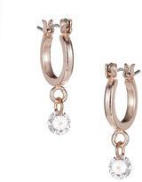 Expression Rhinestone Mini Hoop Earrings
