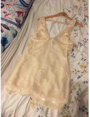 Nasty Gal Ecru Dress for Women