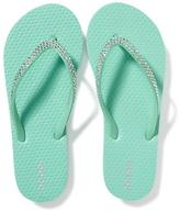 Old Navy Rhinestone-Embellished Flip-Flops for Girls
