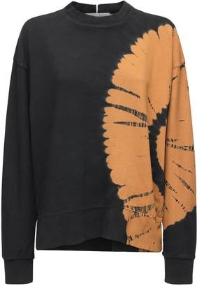 Proenza Schouler White Label Tie Dye Cotton Sweatshirt