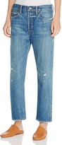 Vince Union Slouch Distressed Jeans in Heritage