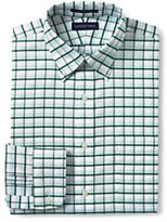 Classic Men's Pattern No Iron Supima Oxford-Rich Red