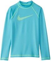 Nike Girls' Long Sleeve Hydro Rashguard 8158831