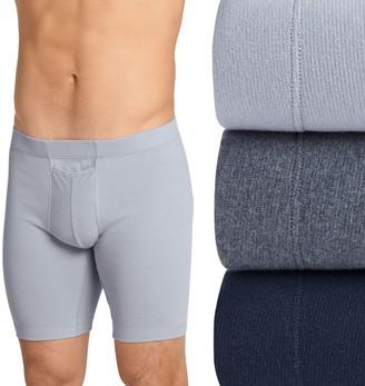Jockey Men's 3-pack ComfortMax Long-Leg Boxer Briefs