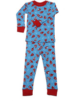 New Jammies Blue Sail Away Organic Pajama Set - Infant & Kids