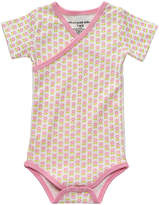 Petunia Pickle Bottom Pink Dainty Daisies Organic Cotton Bodysuit