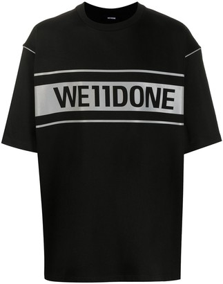 we11done oversized T-shirt