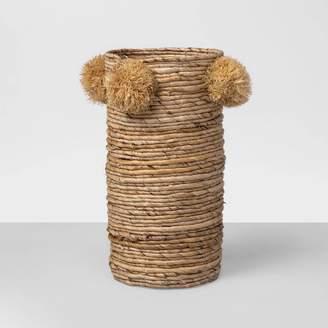 "Opalhouse 15"" x 7"" Decorative Woven Vase Brown - OpalhouseTM"