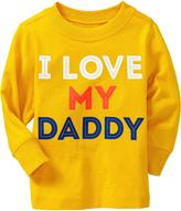 """Old Navy """"I Love My Daddy"""" Tees for Baby"""