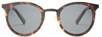 Le Specs No Lurking Round Sunglasses - Tortoiseshell