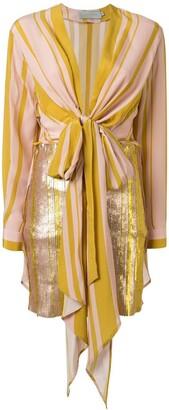 Silvia Tcherassi knot detail Gertrude dress
