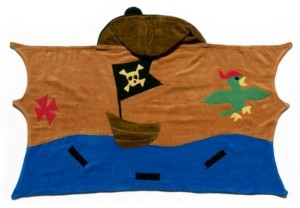 Kidorable Big Boy Pirate Towel