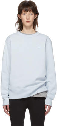 Acne Studios Blue Fairview Face Sweatshirt