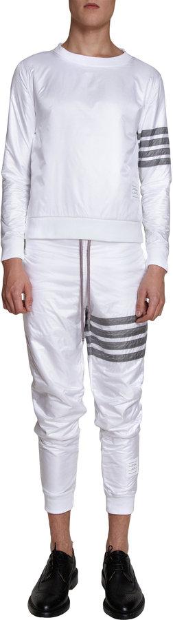 Thom Browne Striped Sleeve Sweater