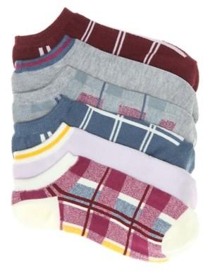 Mix No. 6 Menswear Women's No Show Socks - 6 Pack