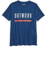 Under Armour Boy's Outwork Everyone Heatgear T-Shirt