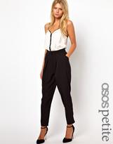 Asos Peg Pants with Soft Pleats
