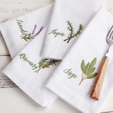 Sur La Table Herb Napkins, Set of 4