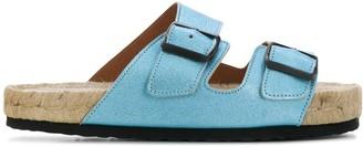 Manebi Nordic slip-on sandals