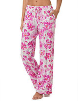 Kensie Floral Wide-Leg Lounge Pants