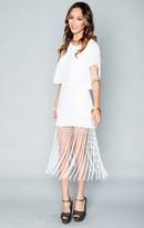 MUMU MK Mini Skirt ~ White Crisp