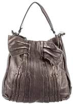 Valentino Pleated Leather Bag