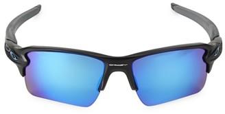 Oakley 59MM Detroit Lions Flak Sunglasses