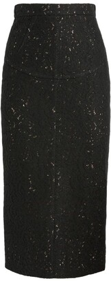 No.21 N21 Lace Betty Midi Skirt