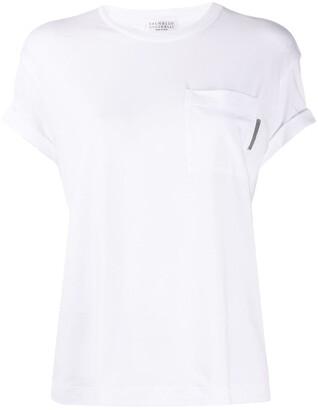 Brunello Cucinelli chest pocket T-shirt