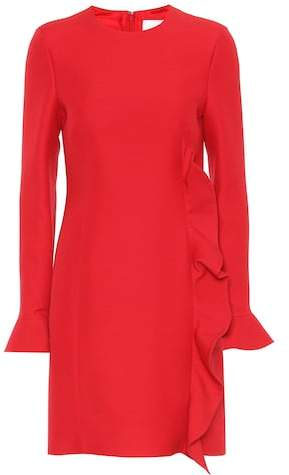 Valentino Virgin wool and silk dress