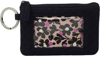 Vera Bradley Iconic Zip ID Case (Classic Navy) Wallet