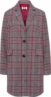Brax Women's Porto Outdoor Check Mantel Coat