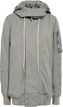 Rick Owens Cotton-blend Hooded Jacket