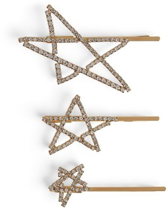 LELET NY Seeing Stars Hair Clips (Pack of 3)